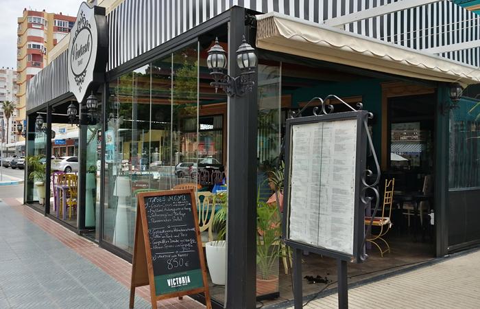 Cortinas de cristal para restaurantes