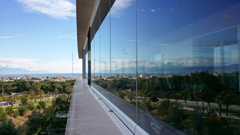 Lumisol Mediterránea - Cristales para terrazas